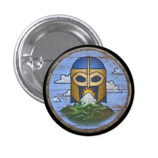 Viking Shield Button - Valhalla