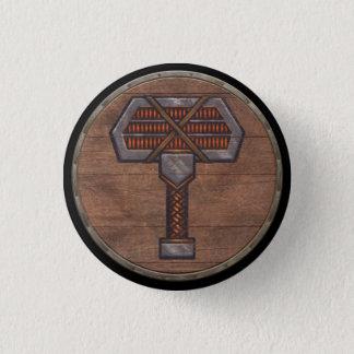 Viking Shield Button - Warhammer