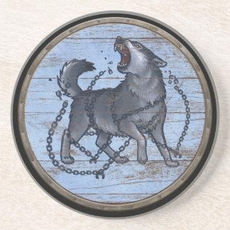 Viking Shield - Fenrir Drink Coasters