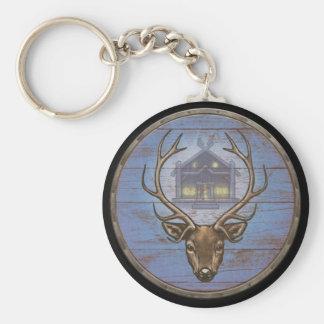 Viking Shield Keychain - Eikþyrnir