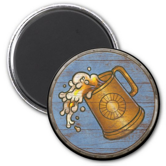 Viking Shield Magnet - Tankard