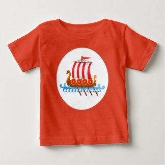 Viking Ship Baby T-Shirt