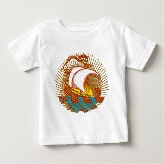 Viking Ship Baby T-Shirt