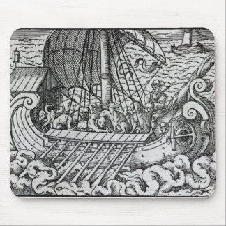Viking Ship Mouse Mat