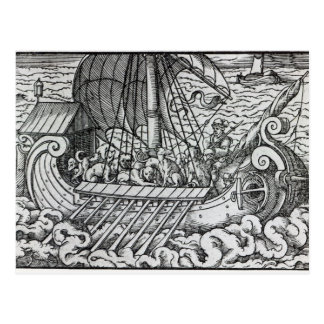 Viking Ship Postcard