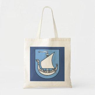 Viking Ship Scandinavian Budget Tote Bag