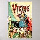 Viking Ship Thor Norseman Warriors Norse Poster