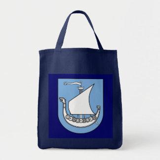 """Viking Ship"" Canvas Bag"