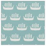 Viking ships fabric