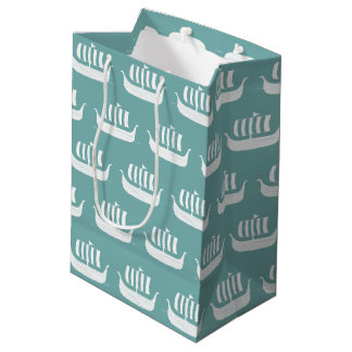 Viking ships giftbag medium gift bag
