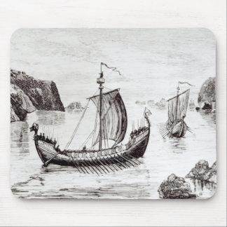 Viking Ships Mouse Mat