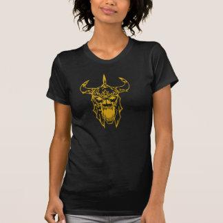 Viking Skull black shirt Tshirts