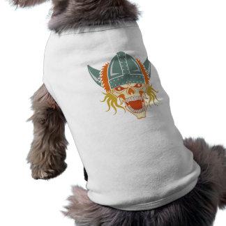 VIKING skull custom pet clothing