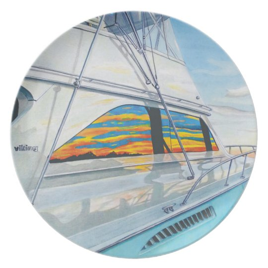 Viking Sportfisher Plate