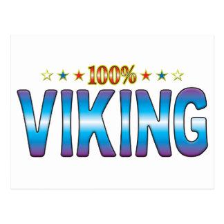 Viking Star Tag v2 Postcard