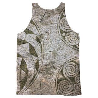 Viking Swirls All-Over Print Tank Top