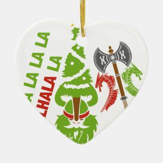 Viking Valhalla Christmas Holiday Christmas Ornament