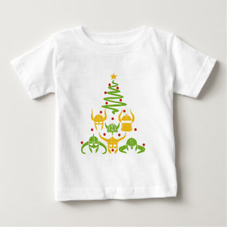 Viking Valhalla Christmas Tree Baby T-Shirt