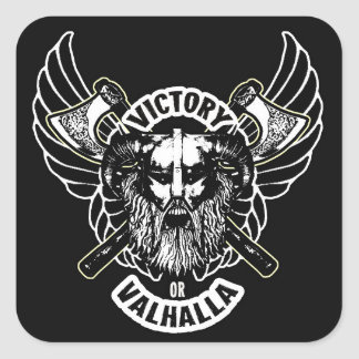 Viking - Victory or Valhalla Stickers