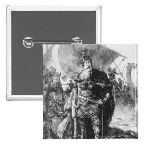 Viking Warrior Pin