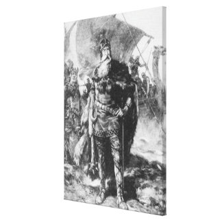 Viking Warrior Canvas Prints
