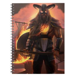 Viking Warrior Notebook
