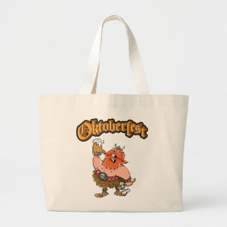 VIKING WARRIOR OKTOBERFRST LARGE TOTE BAG