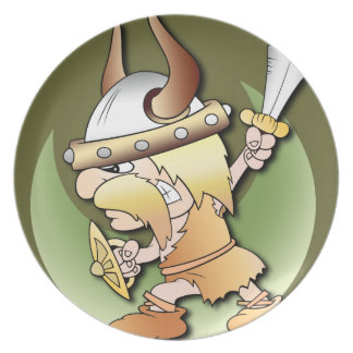 Viking Warrior Plate