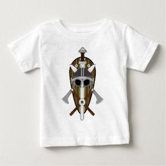 Viking Warrior Shield Baby T-Shirt