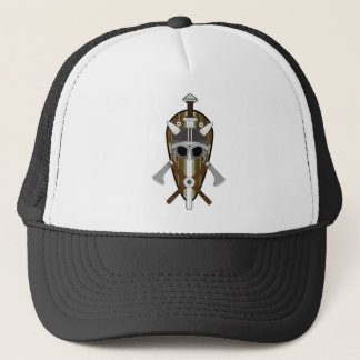 Viking Warrior Shield Trucker Hat