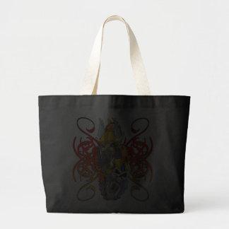 Viking Warrior Tattoo Jumbo Tote Bag