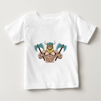 Viking Warrior With Axes Baby T-Shirt