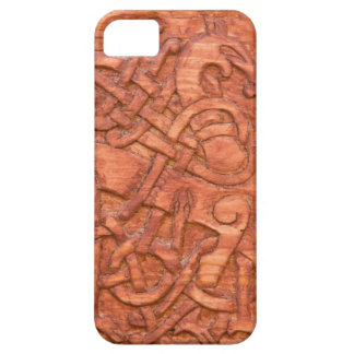 Viking wood carving barely there iPhone 5 case