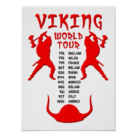 Viking World Tour Poster