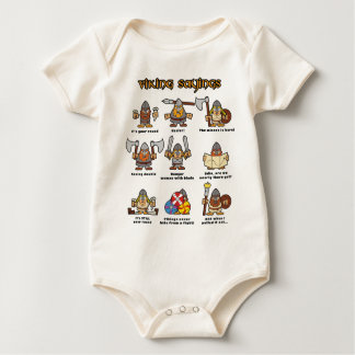 Vikings Baby Bodysuit