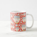 vikings basic white mug