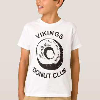 Vikings Donut Club T-Shirt