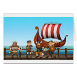 Vikings Greeting Card