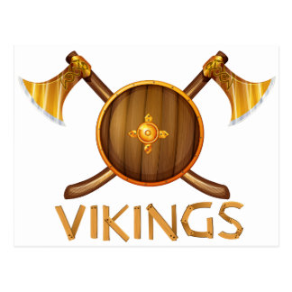 Vikings Postcard