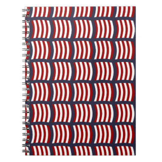 Vikings Sail Pattern Notebook