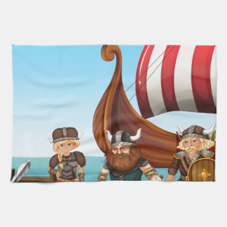 Vikings Tea Towel