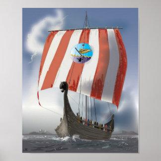 VikingShip Posters