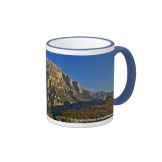 Vikos Gorge Ringer Mug