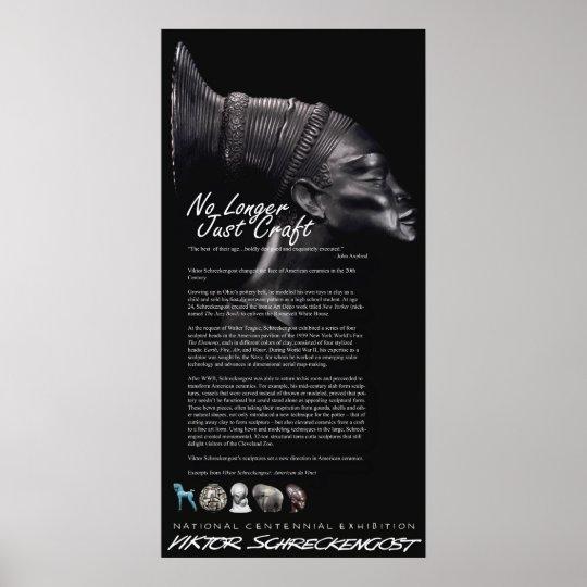 Viktor Schreckengost Ceramics Legacy Poster