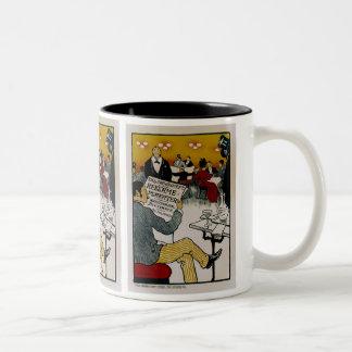 Vilhem Soborg's Successors Two-Tone Mug