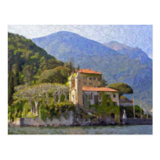 Villa Balbianello, Lake Como Postcard
