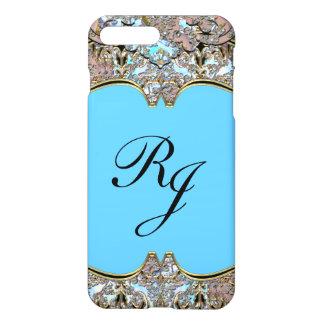 Villa Baroque French Monogram plus iPhone 7 Plus Case