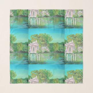 """Villa Borghese  - 36"""" x 36"""" Square Scarf"""