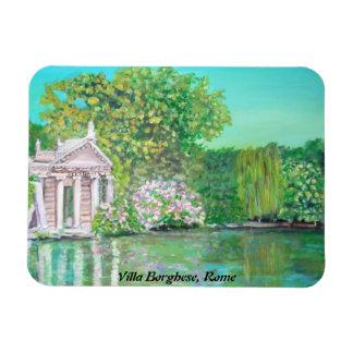 Villa Borghese Park, Rome -  Premium Flexi Magnet