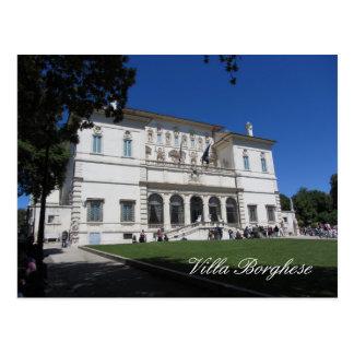 Villa Borghese, Rome,Italy Postcard